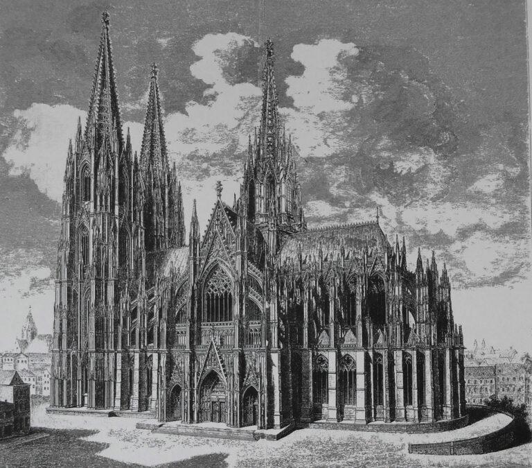 Köln Dom St. Peter mit Vierungslaterne