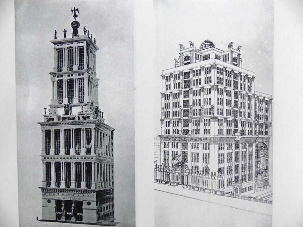 Hochhäusern an der Donau und in der Leopoldstadt