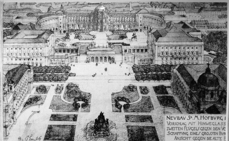 Hofburg mit Kuppeltrakt