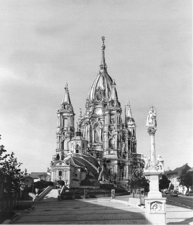 Wallfahrtskirche in Eisenstadt als Bergkirche