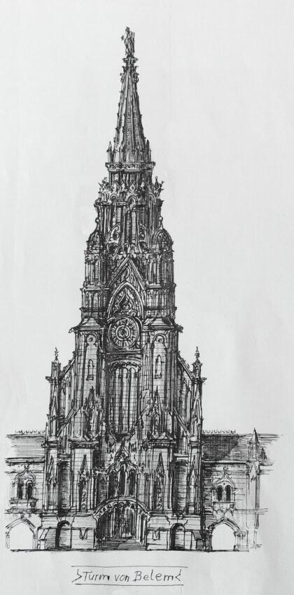 Belem: Idee eines Turms am Kloster