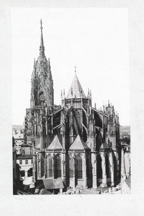 Turmkuppel vom Chor gesehen