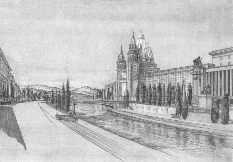 Immatriklatakirche an der Donau