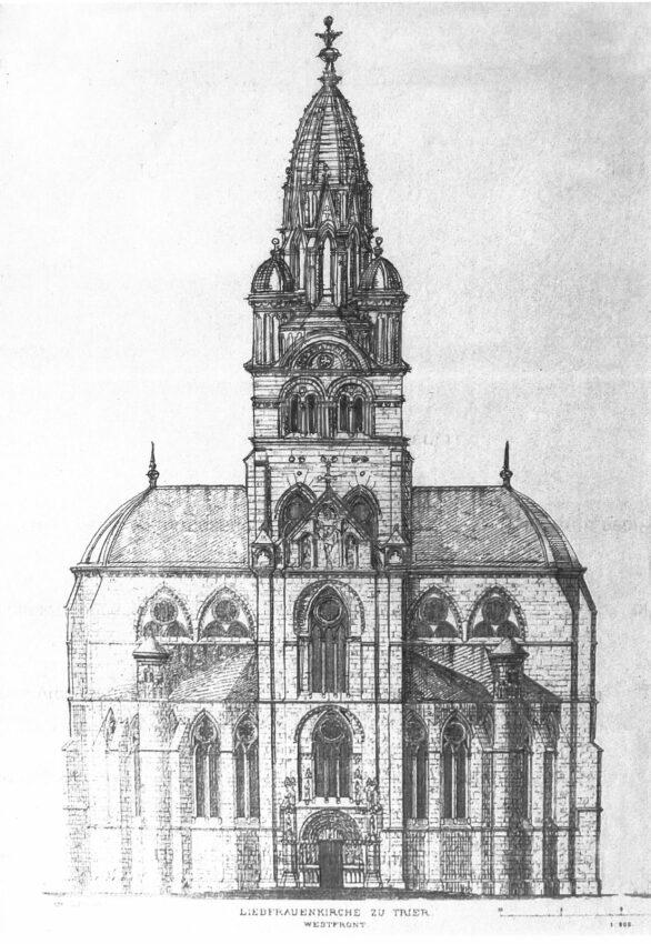 Trier Liebfrauenkirche mit Kuppel